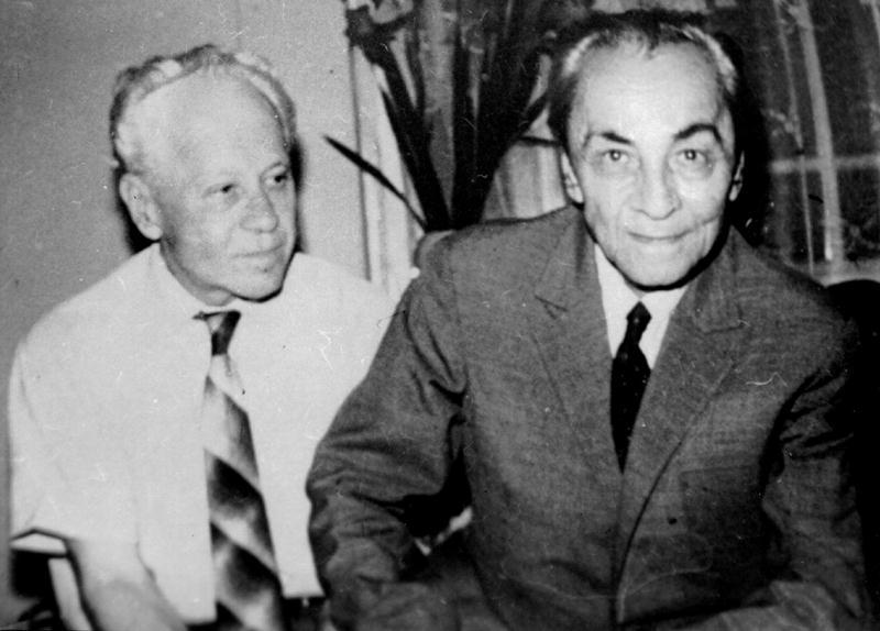 Leon Kalustian și fratele său, Manuil