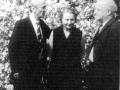 Leon Kalustian, Satenig Kalustian și Nicolae Carandino